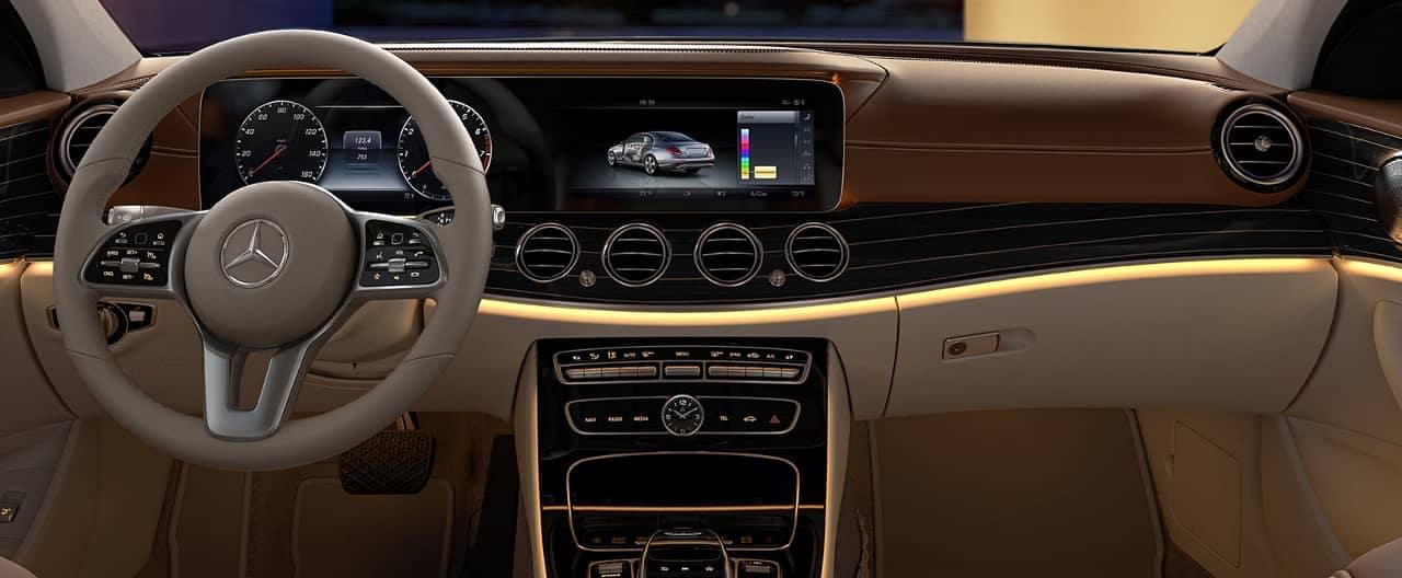 2019 Mercedes-Benz E-Class Interior dash