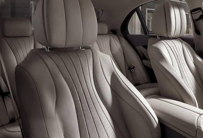 2019 Mercedes-Benz E-Class leather seats