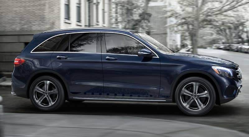 Exterior of 2019 Mercedes-Benz GLC