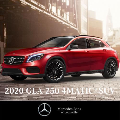 Lease a 2020 GLA 250 4MATIC® SUV