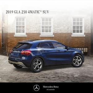 Lease a 2019 GLA250 4MATIC®