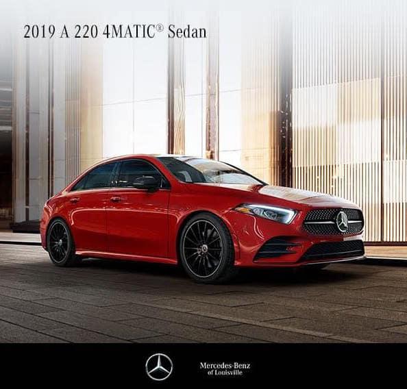 2019 A 220 Sedan 4MATIC®