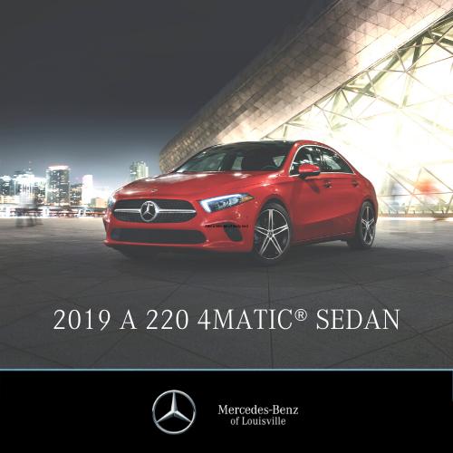 Lease a 2019 A 220 4MATIC® Sedan