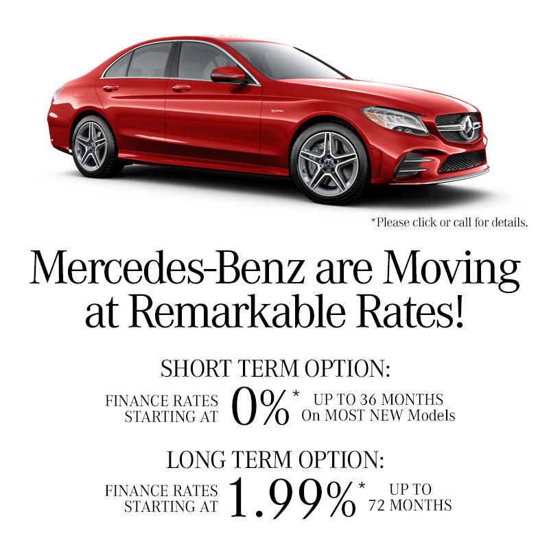 For Select new Mercedes-Benz Models