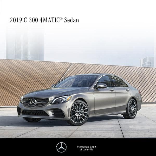 Lease a 2019 C300 Sedan 4MATIC®