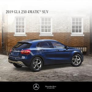 Lease a 2019 GLA250 4MATIC® $0 Due At Signing!