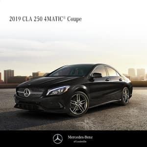 Lease a 2019 Mercedes-Benz CLA250 4MATIC®