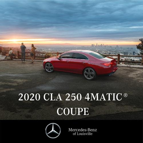 Lease a 2020 CLA 250 4MATIC® Coupe