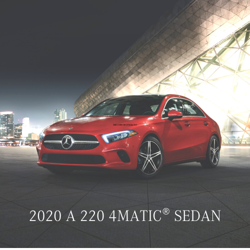 Lease a 2020 A 220 4MATIC® Sedan