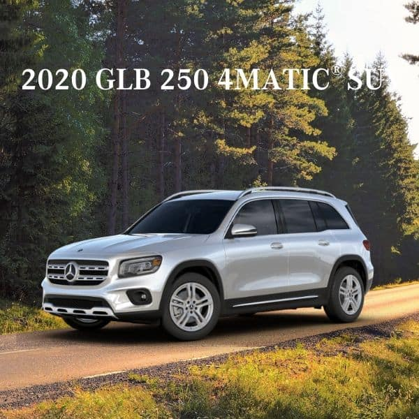 Lease a 2020 Mercedes-Benz GLB 250 4MATIC® SUV