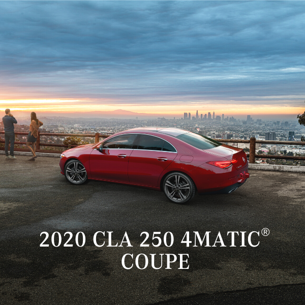 Lease a 2020 CLA 250 4MATIC® Coupe