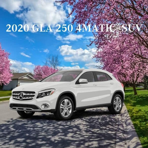 Lease a 2020 GLA 250 4MATIC® SUV