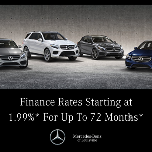 Finance Rates Starting at 1.99%* For Up To 72 Months*