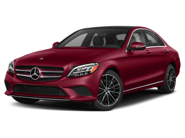 2020 Mercedes-Benz C-Class red