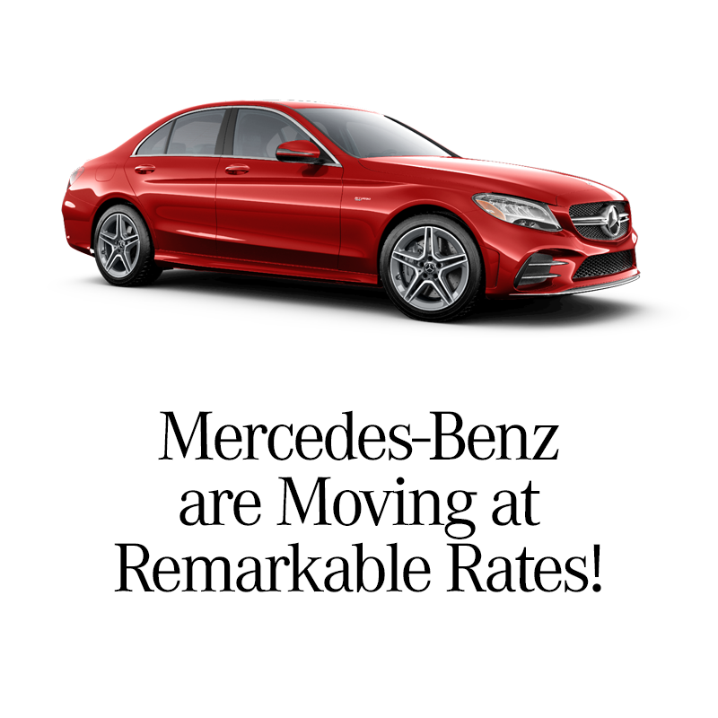 New 2020 Finance Rates starting at 0.0% For Select new Mercedes-Benz Models
