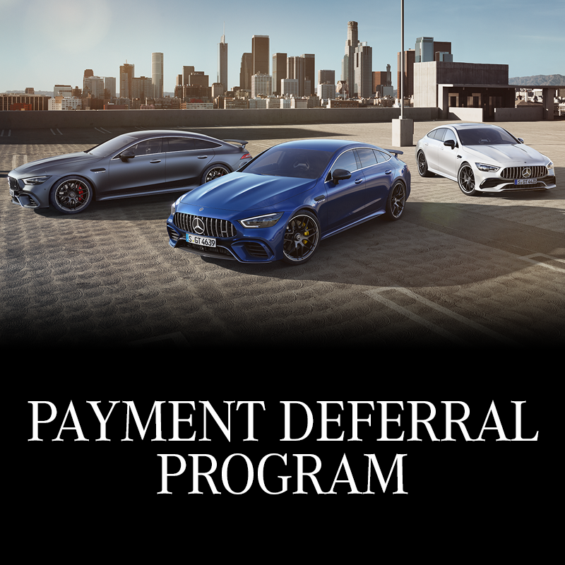 Defer your first payment for 90 days when you purchase a new or pre-owned Mercedes-Benz
