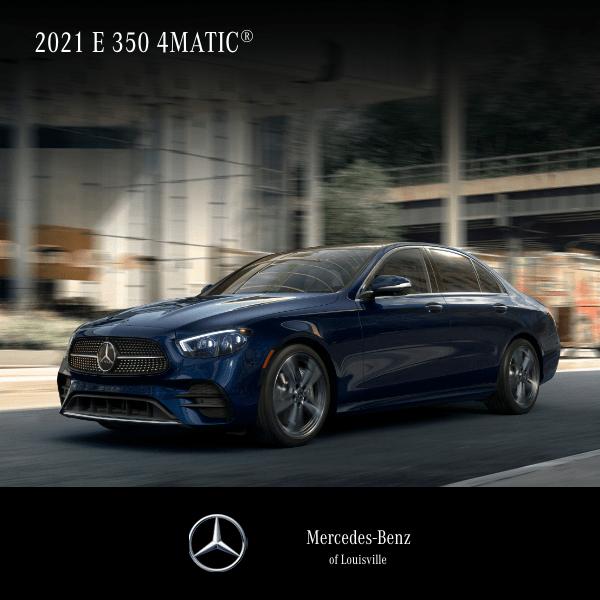 Lease a 2021 E 350 4MATIC® Sedan