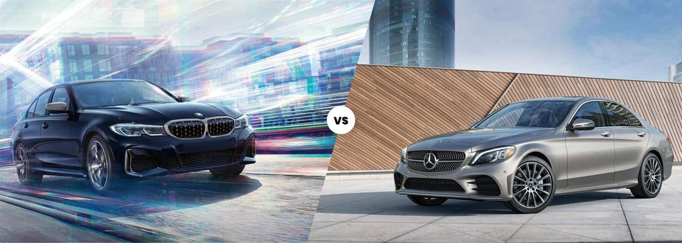2020 BMW 3 series vs C-Class
