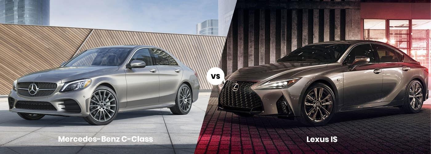 c-class vs lexus is