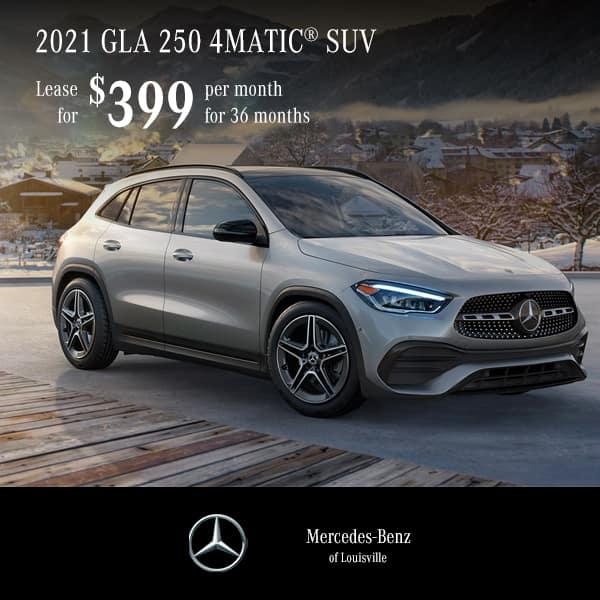 Lease a 2021 GLA 250 4MATIC® SUV