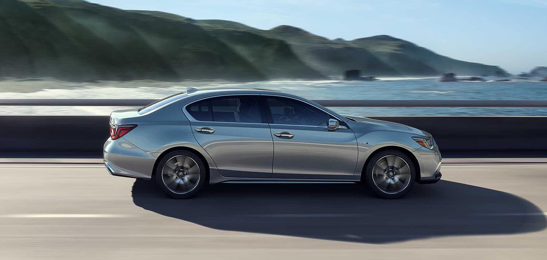 2019 Acura RLX Exterior Side Profile Drive