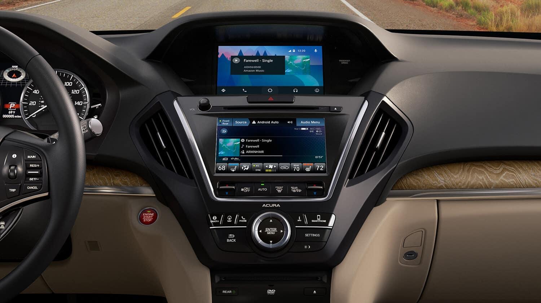 2019 Acura MDX Interior Infotainment Stack