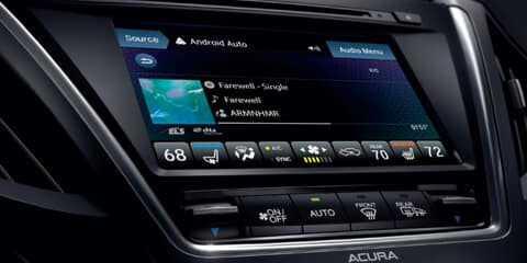 2019 Acura MDX On Demand Multi-Use Display