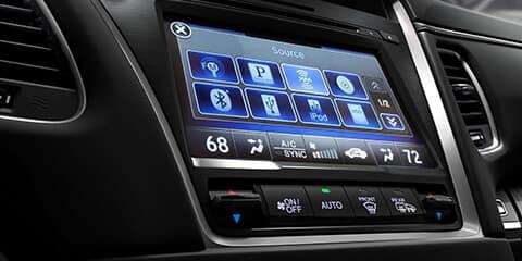 2019 Acura RLX On Demand Multi-Use Display