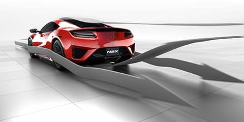 2019 Acura NSX Airflow Management