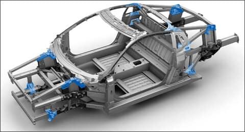 2019 Acura NSX Aluminum GDC Castings