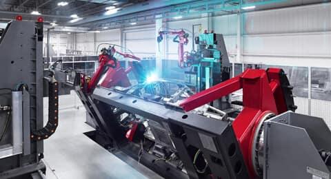 2019 Acura NSX Robotic MIG Welding