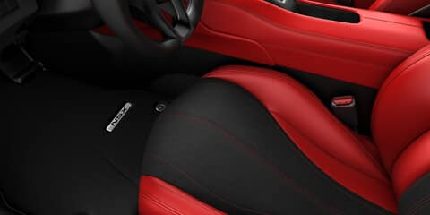 2019 Acura NSX Seat Materials for Performance