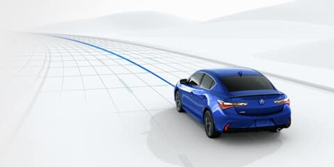 2019 Acura ILX Lane Keeping Assist System