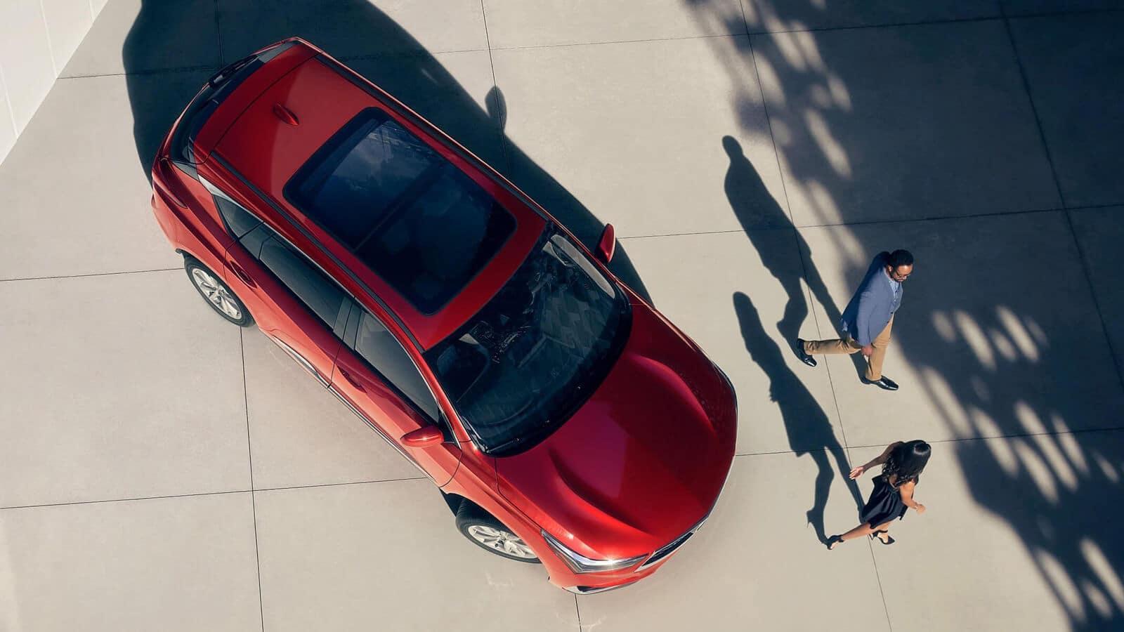 2020 Acura RDX Exterior Overhead Angle