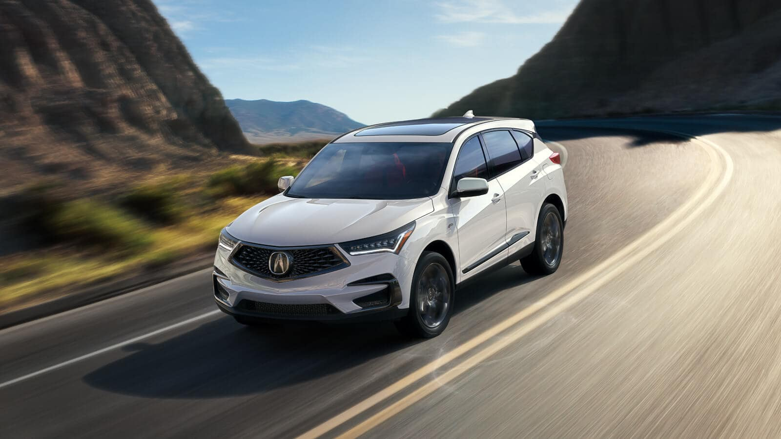2020 Acura RDX Exterior Front Angle Driver Side