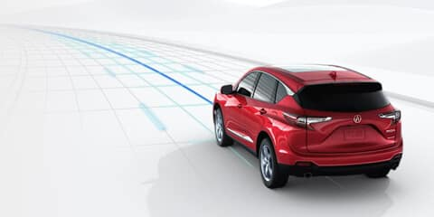 2020 Acura RDX Lane Keeping Assist System