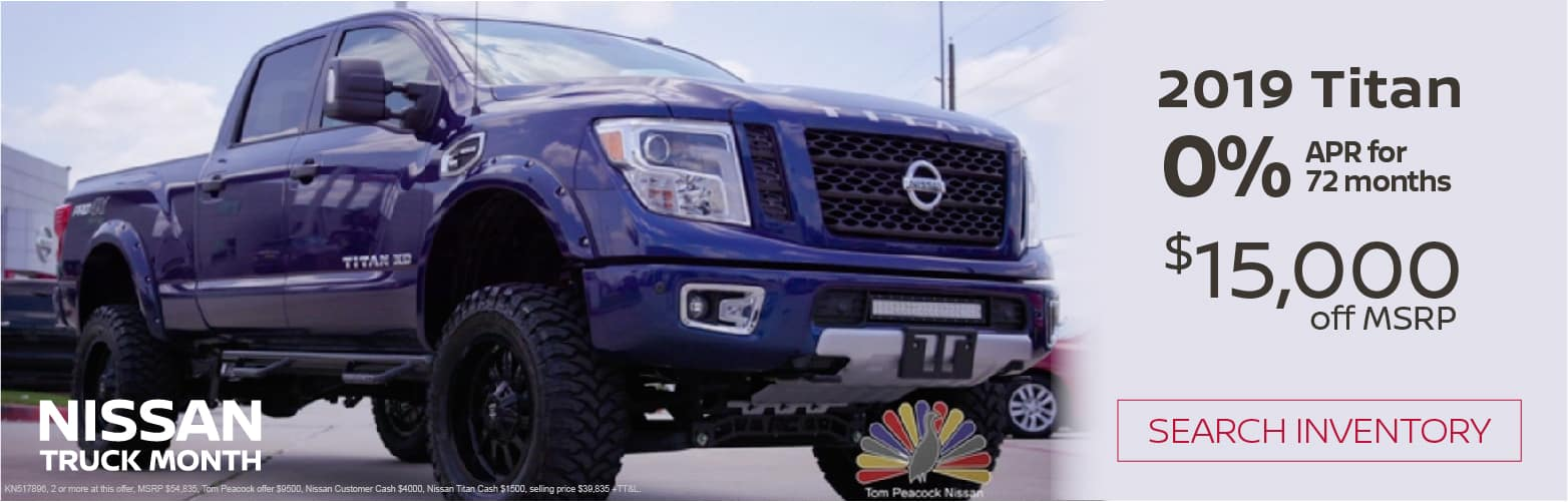 Nissan Dealers In Nj >> Tom Peacock Nissan New And Used Car Dealer In Houston Tx