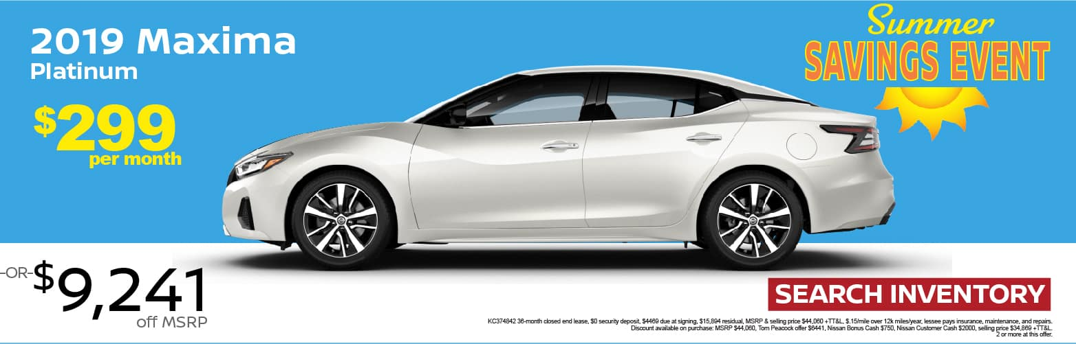 Nissan Dealership Houston >> Tom Peacock Nissan New And Used Car Dealer In Houston Tx