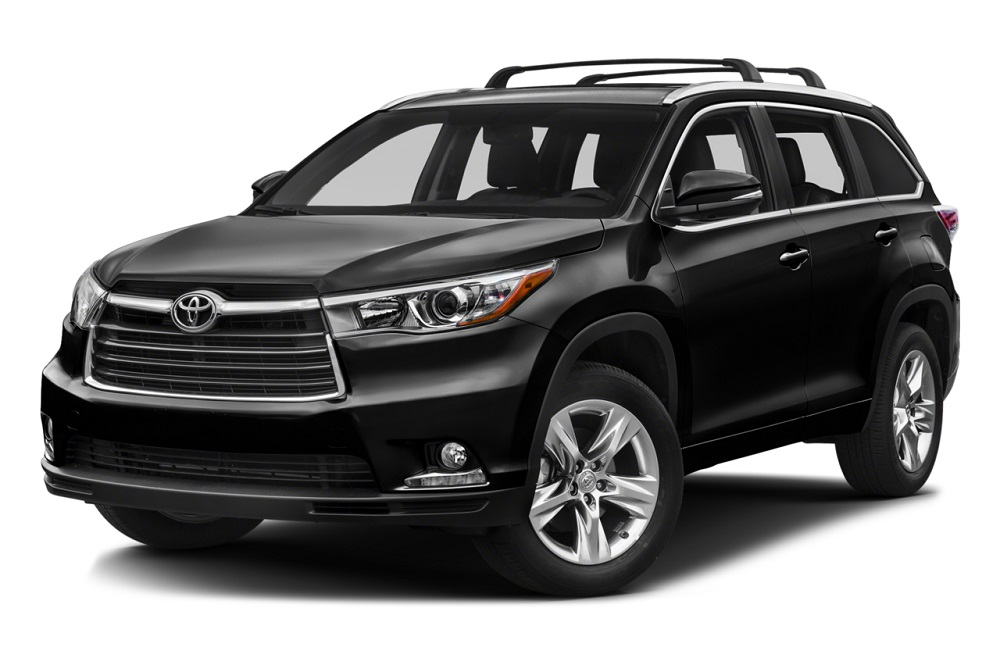2016-Toyota-Highlander Black