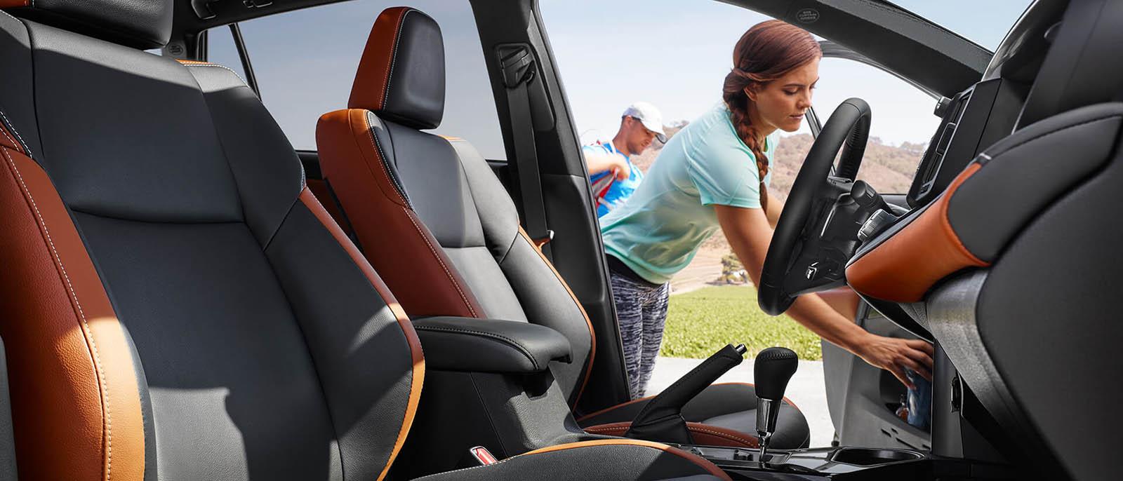 2017 Toyota RAV4 Hybrid Interior