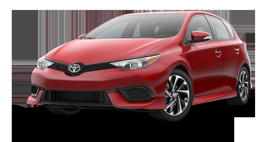 2017 Toyota Corolla iM Red