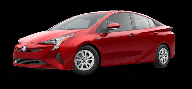 2017 Toyota Prius Red