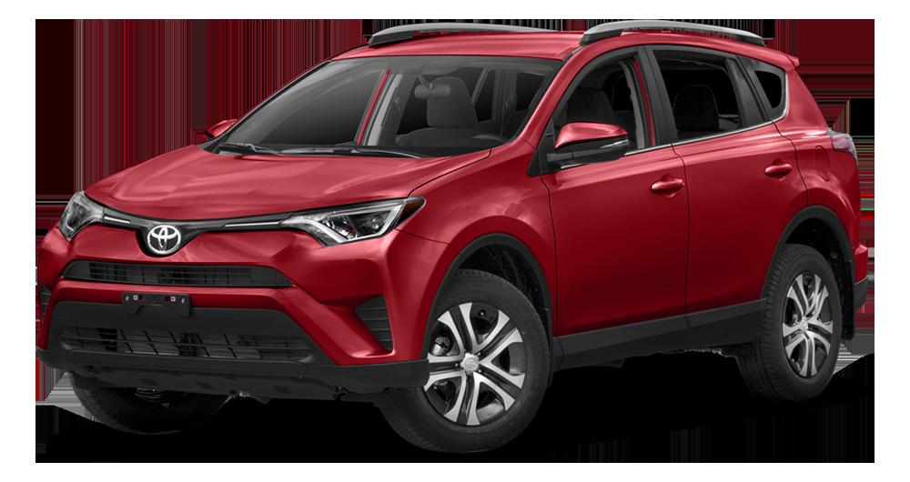 2017 Toyota RAV4 Hybrid Red