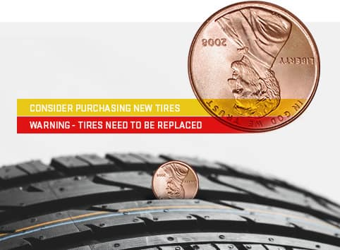 Tire Penny Test >> How Do You Check Tire Tread Depth Toyota Of Hollywood Service Tips