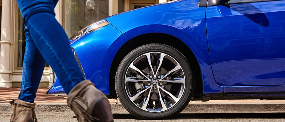 Blue Toyota