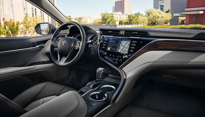 2019 Toyota Camry Interior Passenger View