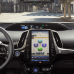 View Inside 2019 Toyota Prius Dashboard