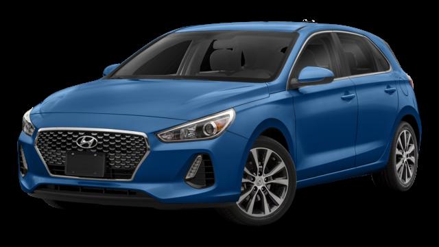Blue 2019 Hyundai Elantra Thumbnail