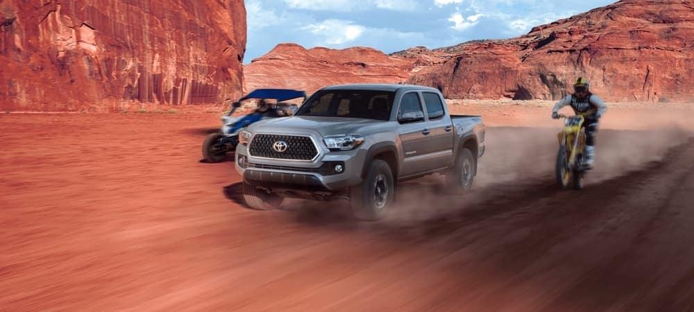 2019 Toyota Tacoma off-roading