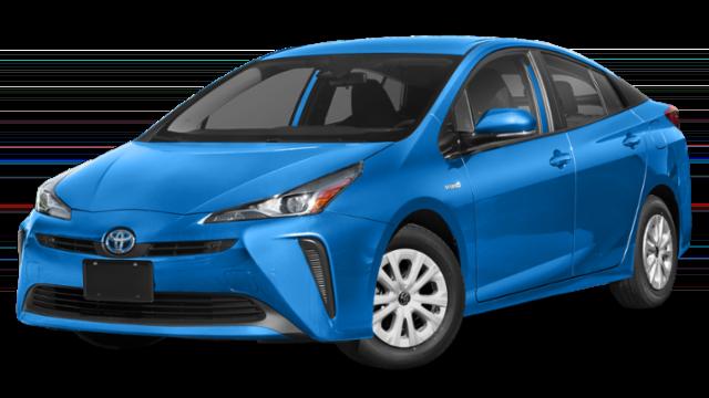 Blue 2019 Toyota Prius thumbnail